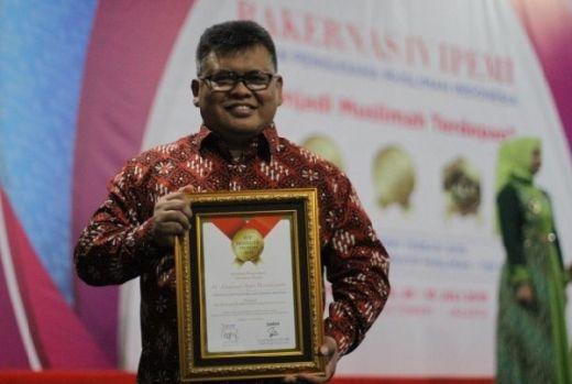 Direktur Utama Baznas Raih Penghargaan TOP Eksekutif Muslim