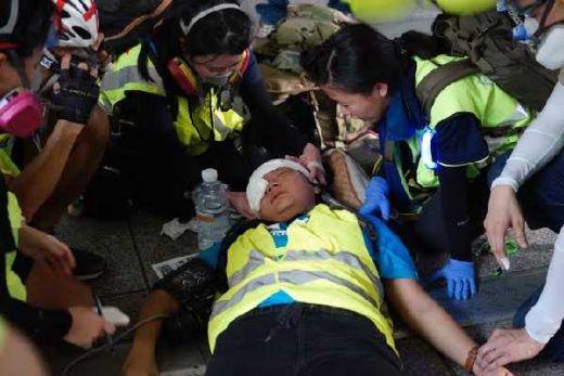 Kena Tembak di Hongkong, Pemerintah Siap Berikan Bantuan ke Jurnalis Indonesia