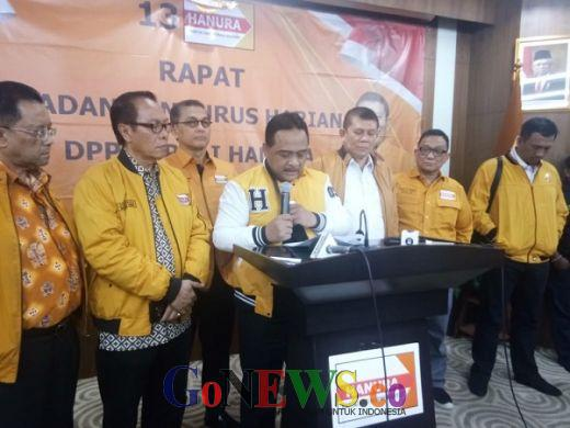 Tak Dapat Kursi Menteri, Benny Rhamdani: Partai Hanura Legowo