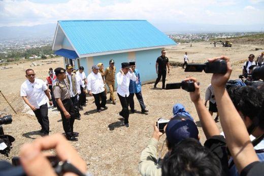 Presiden Minta Penyelesaian Proyek Huntap Duyu-Tondo Dipercepat