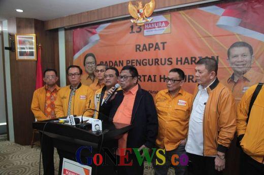 Tak Dapat Jatah Menteri, Partai Hanura Tetap Dukung Pemerintahan Jokowi-Ma'ruf Amin