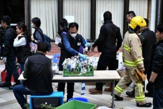 Lebih dari 3800 Bom Molotov Disita Polisi