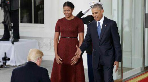 Obama Kecam Keras Kebijakan Trump Larang Warga Negara Islam Masuk AS