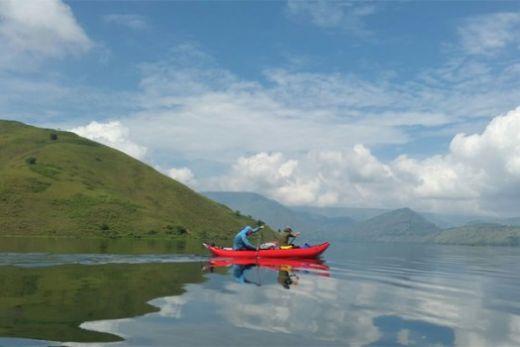 Internasional Toba Kayak Maraton 2017 Lengkapi Atraksi Danau Toba