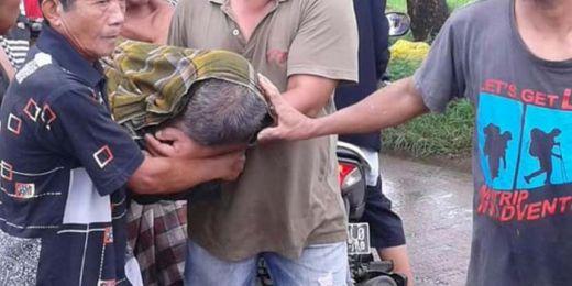 Ngotot Kerja saat Hujan Deras, Pensiunan TNI Meninggal di Pematang Sawah
