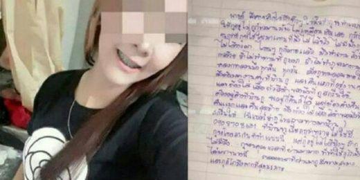 Sebelum Gantung Diri, Gadis Cantik Ini Tulis Surat, Isinya Menyeramkan