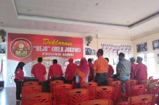 Waduh... Deklarasi Dukungan Jokowi-Maruf Amin di Jambi Cuma Dihadiri 14 Orang