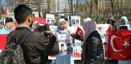 Emak- emak Milenial di Turki Deklarasi Dukung Prabowo Sandi