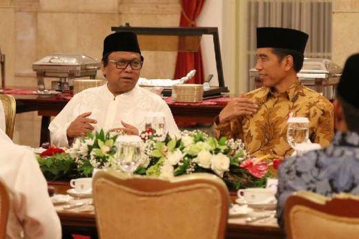 Jokowi Gelar Buka Bersama Pimpinan Lembaga Tinggi Negara di Istana Bogor