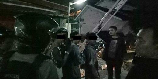 Rasakan...10 Remaja Diduga Anggota Geng Motor Ditangkap di Depok