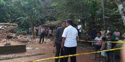 Ledakan Mercon Hancurkan 3 Rumah, 2 Warga Tewas