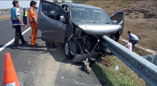 1 Orang Meninggal dan 2 Terluka Akibat Kecelakaan di Tol Solo-Sragen