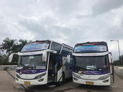 Rombongan Mudik Basamo Tiba di Pekanbaru, Warga Kampar-Riau: Terimakasih Jamkrindo...