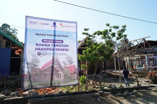 75 Rumah TangguhHarapan Negeri di Mamuju Wujudkan Kolaborasi untuk Negeri