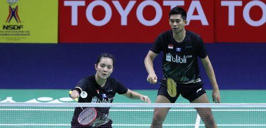 Hentikan Wakil Thailand, Alfian-Marsheilla ke Babak Kedua