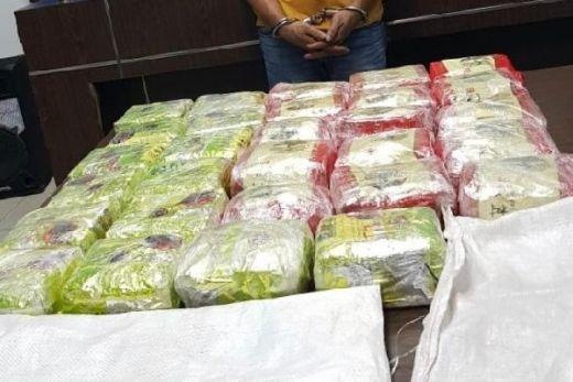 Bekuk Jaringan Narkoba, BNN Amankan 2 Karung Sabu Diduga Asal China