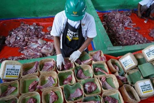 Lebih dari 50.000 KK jadi Target Penyaluran Daging Kurban Online BAZNAS