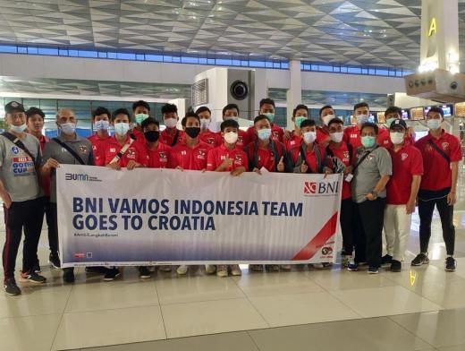 Vamos Berangkatkan 20 Anak Indonesia ke Kroasia
